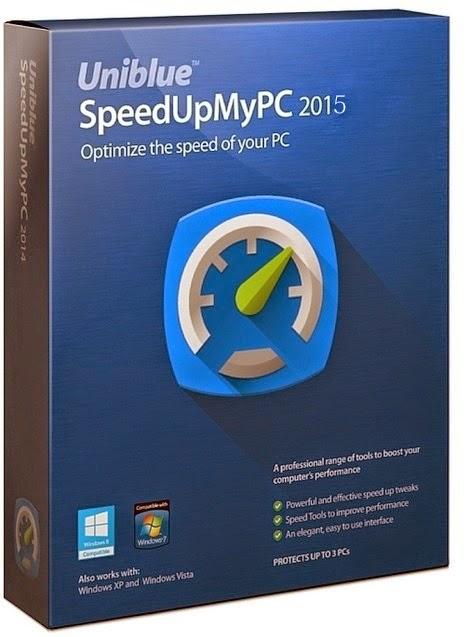 Download Uniblue SpeedUpMyPC 2015 + Serial