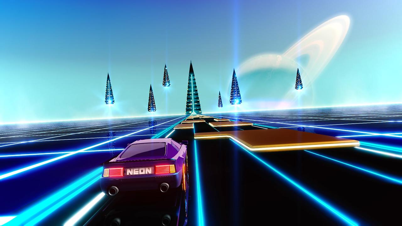 Neon Drive Review (PS4) | PSXboxIndies
