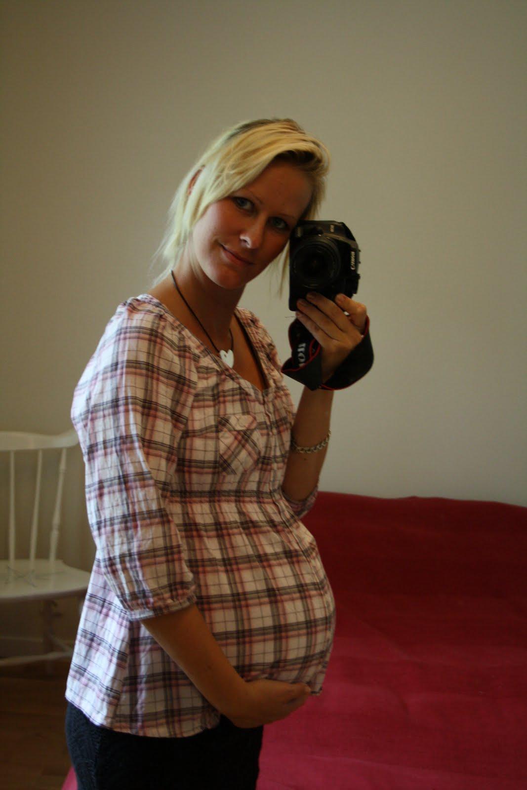 molande mensvärk gravid vecka 33