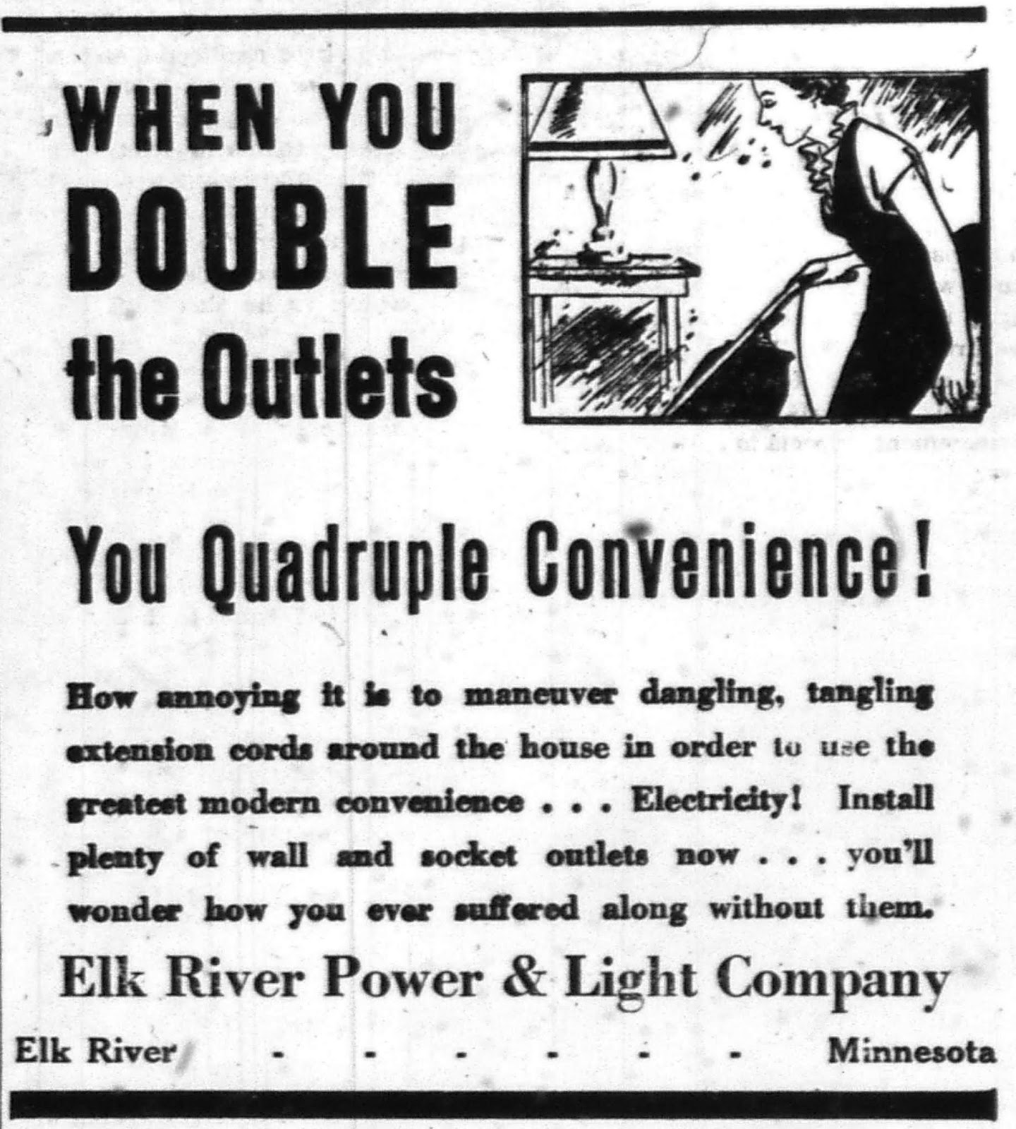 advertising in the sherburne county star news in 1938 39 and 1940