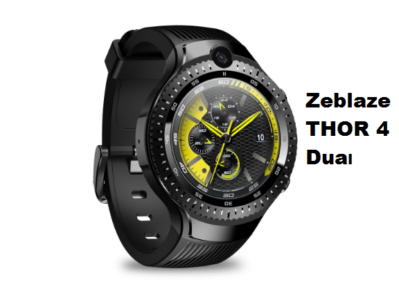 Zeblaze THOR 4 Dual 4G SmartWatch (Affordable Price)