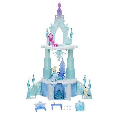 JUGUETES - DISNEY Frozen : Little Kingdom Castillo Mágico de Elsa | 50 cm Producto Oficial 2016 | Hasbro B6253 | A partir de 4 años Comprar en Amazon España
