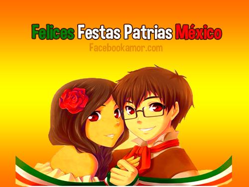 Felices fiestas patrias México para facebook