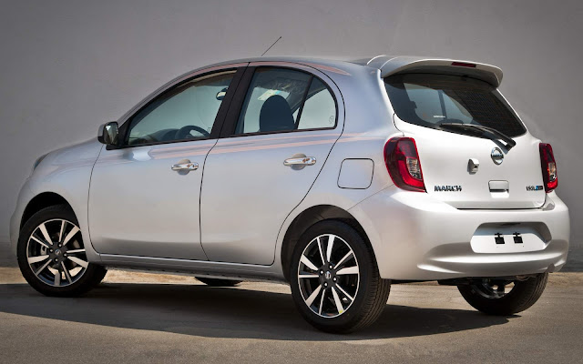 Nissan March 2019 Prata