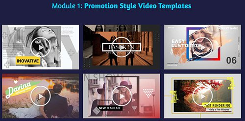 ivovavid Promotion Style Video Templates
