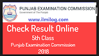 5th Class Result 2018