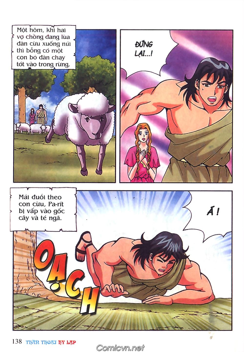 Thần Thoại Hy Lạp Màu - Chapter 50: Hoàng tử Pa rít - Pic 15