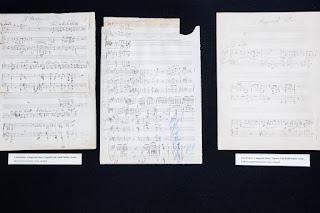 Partituras de nuevo descubiertas con música manuscrita de Franz Liszt (1811-1886).
