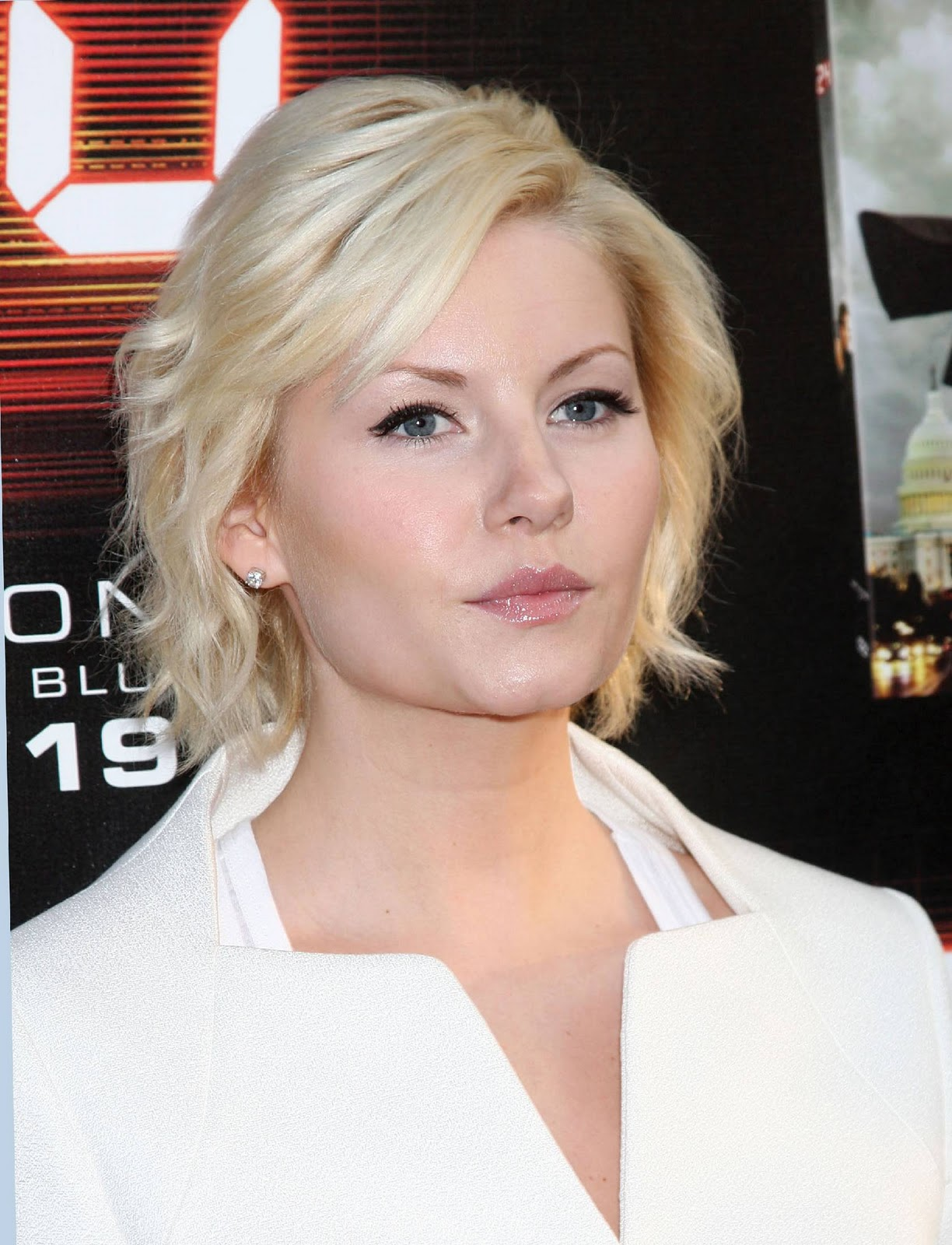 Elisha Cuthbert Latest Photos: Angled Bob Hairstyle
