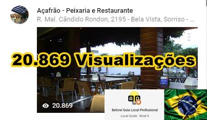 Açafrão Peixaria e Restaurante - Sorriso - MT