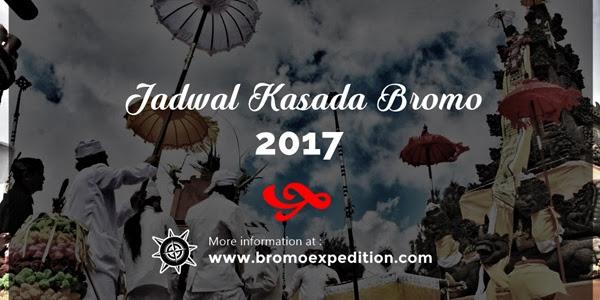 Jadwal Kasada Bromo 2017