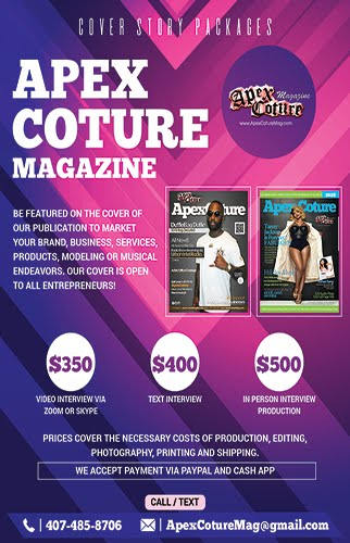 Be featured on our Cover!