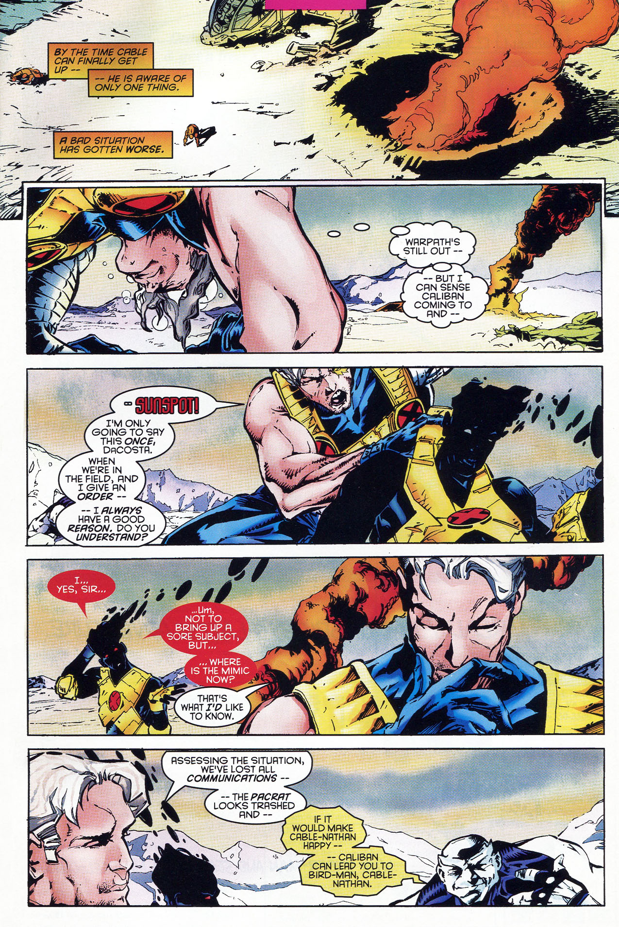Read online X-Force (1991) comic -  Issue #46 - 25