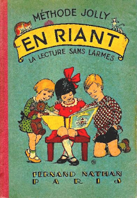 """""""En riant, la lecture sans larmes"""", méthode Jolly, première édition 1931 (collection musée)"""