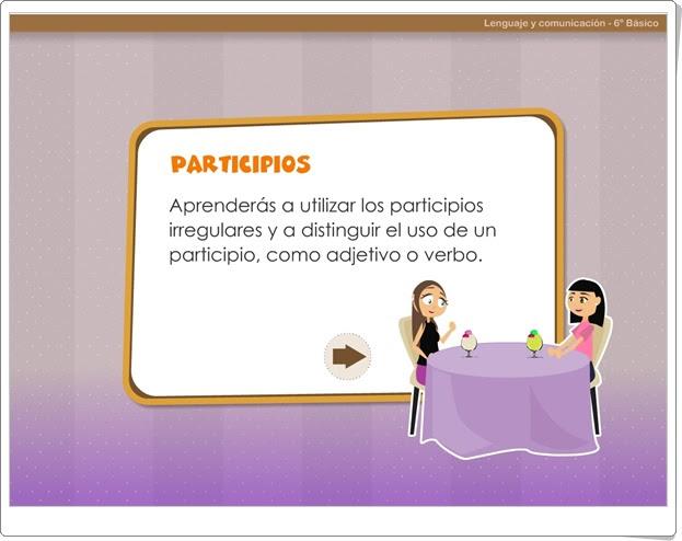 """""""Participios"""" (Juego de Lengua Española)"""