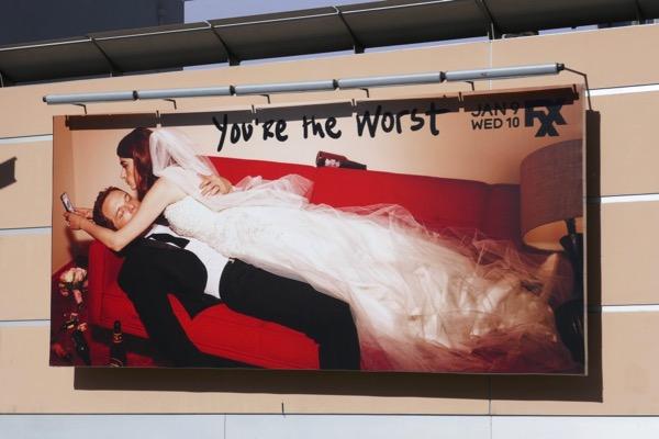Youre The Worst final season 5 billboard