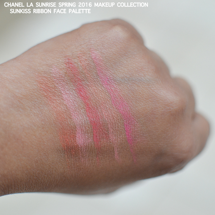 Chanel LA Sunrise Spring 2016 Makeup Collection Photos Swatches Sunkiss Ribbon Blush