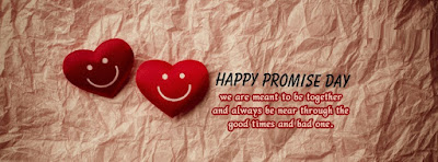 Romantic Happy Promise Day Cover Photos Facebook and FB