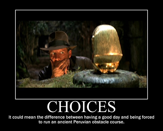 indiana jones motivational message