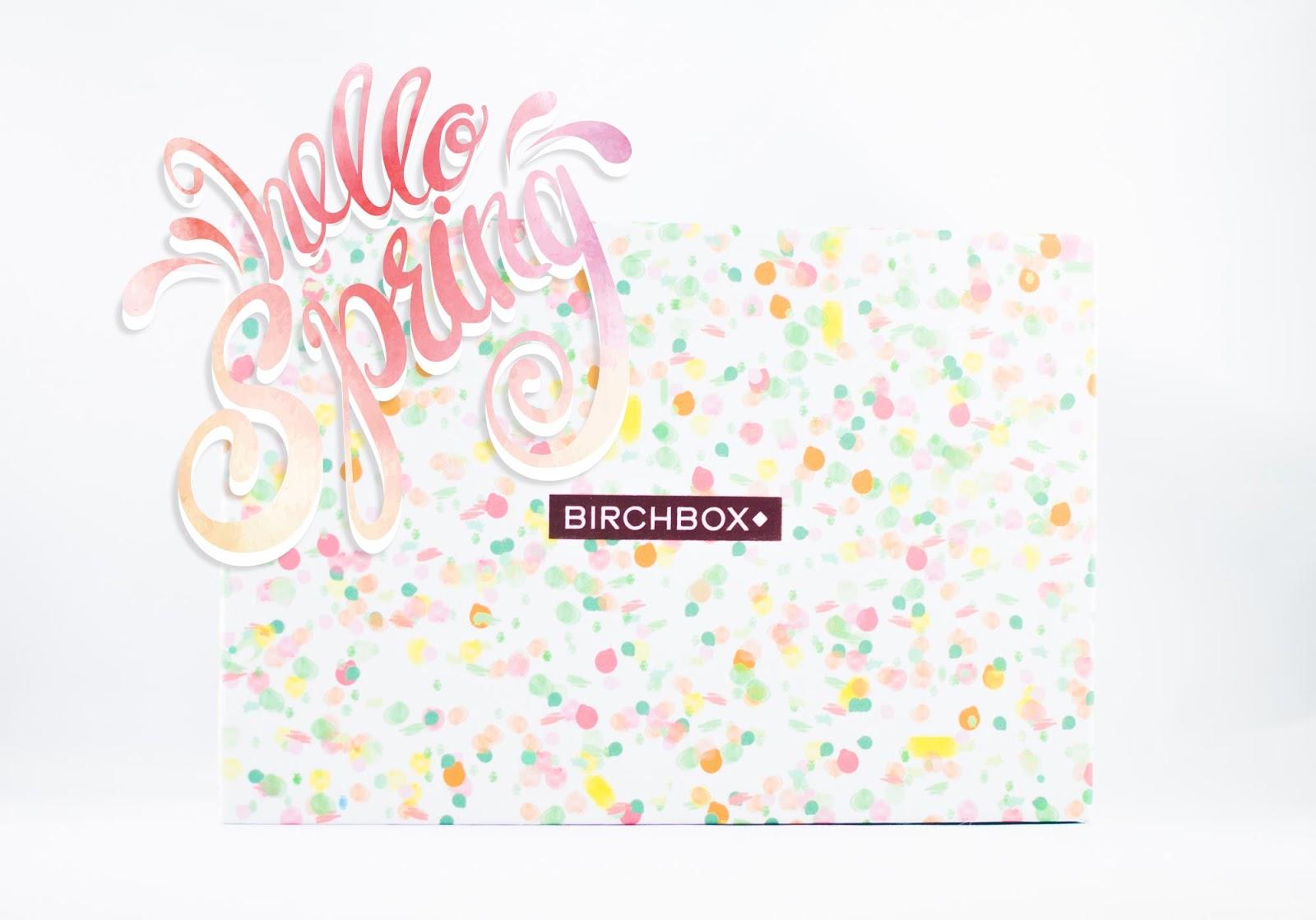 Birchbox mars 2016 Hello Spring beauty box