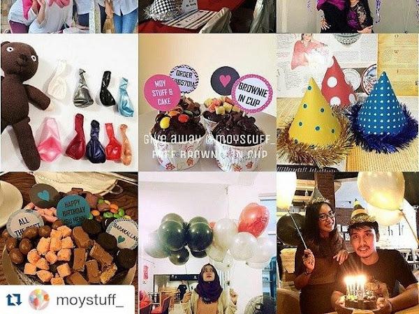 """PENERAPAN E-BUSINESS DI DUNIA NYATA SAAT INI """"Moy Stuff and Cake"""""""