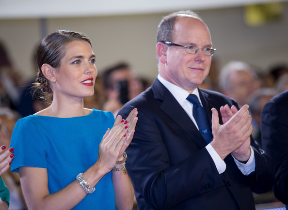 Prince Albert and Charlotte Casiraghi