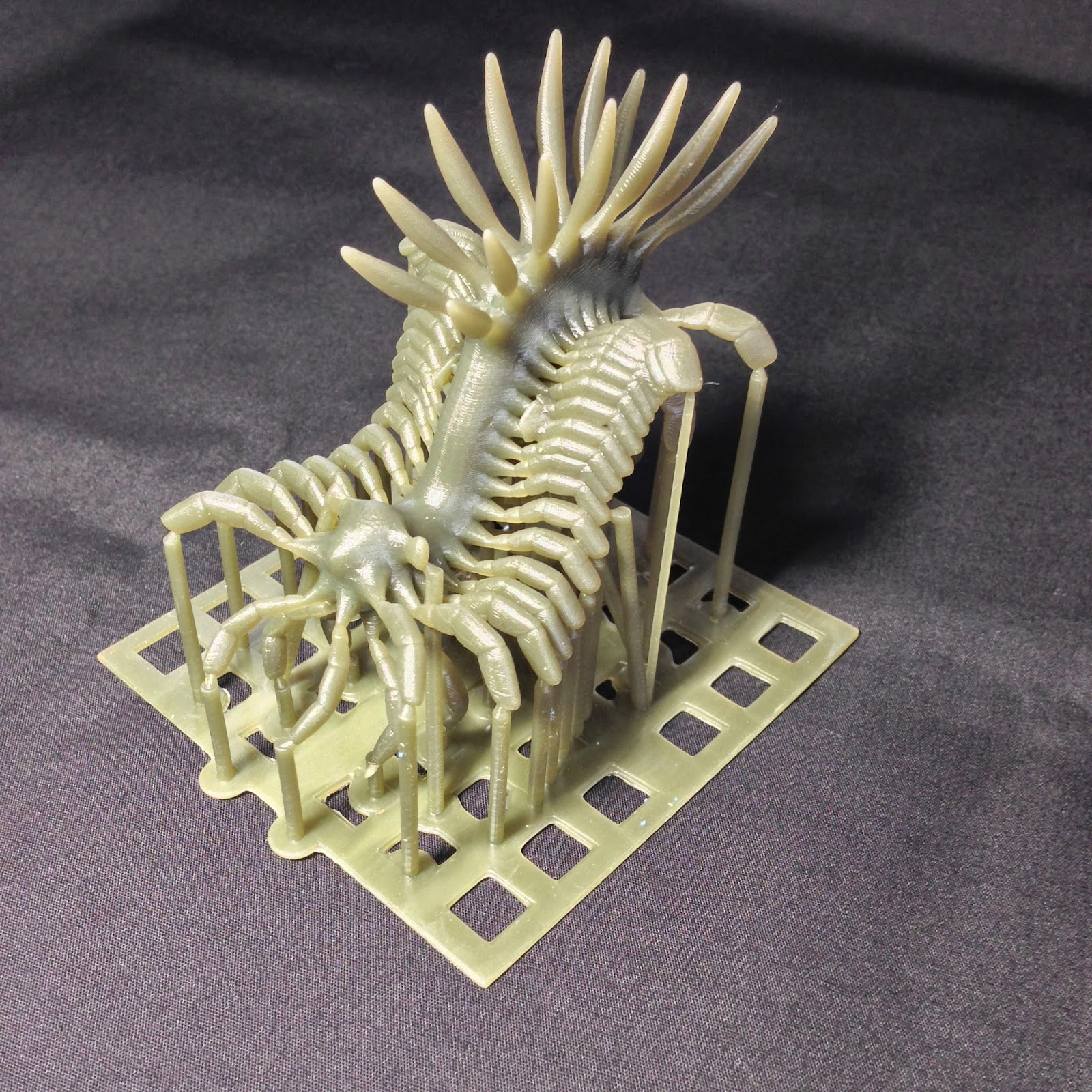 Generative Modeling Project: 3D print test  (larger model)