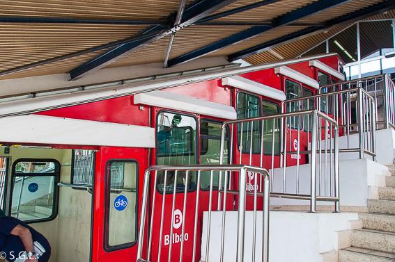 Funicular de Artxanda. Bilbao por una bilbaina