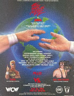 WCW Great American Bash 1992 - Event poster