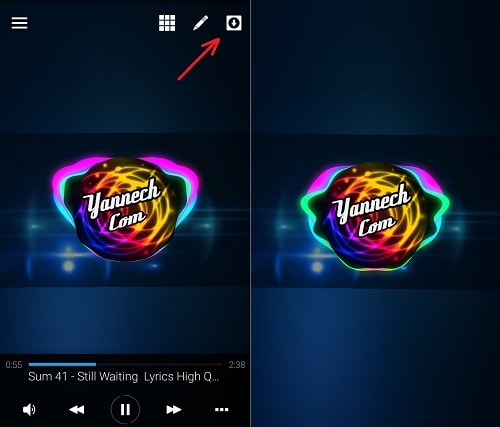 Cara Membuat Audio Spectrum Effect (Trap Nation) di Android