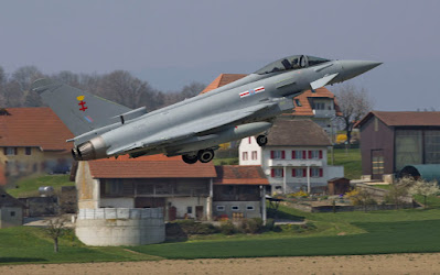 Eurofighter Typhoon FGR.4 ZK356 beim Start