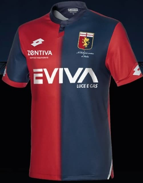 ジェノアCFC 2018-19 ユニフォーム-ホーム