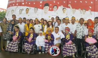 Wali Kota Makassar,Apresiasi Tari Kreasi Penyandang Disbilitas