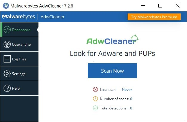 Malwarebytes AdwCleaner Full imagenes