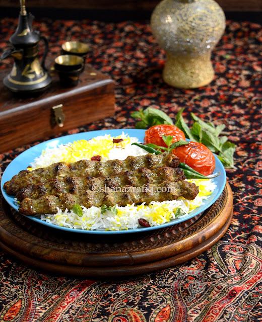 Iranian Kebab, Persian Kebab, Meat Kabab