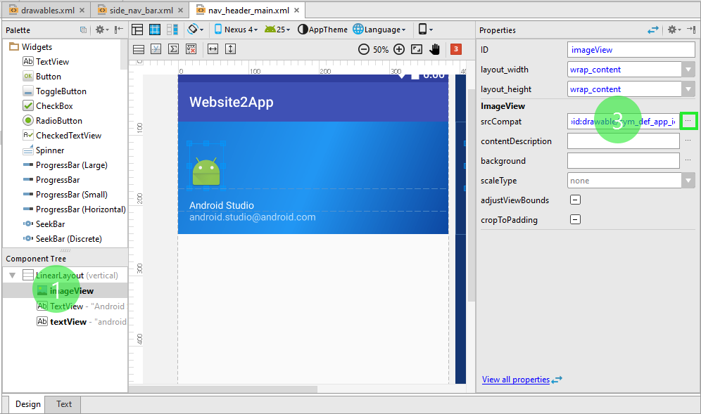 Tutorial : Build an android app for your website (Android Studio