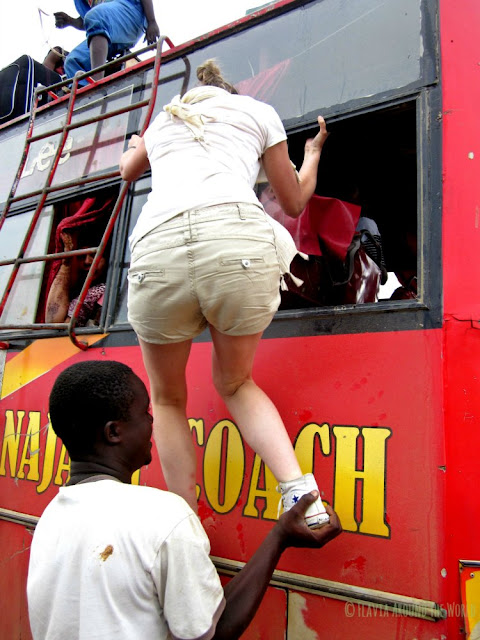 Autobús Lamu Kenia