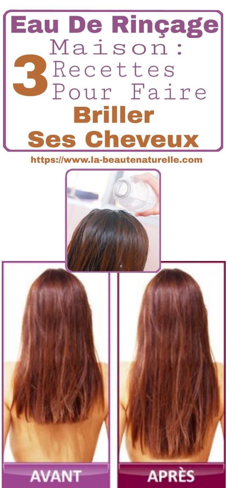 Eau De Rinçage Maison: 3 Recettes Pour Faire Briller Ses Cheveux