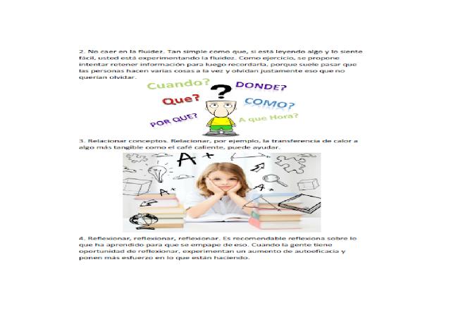 memoria,primaria,secundaria,preescolar