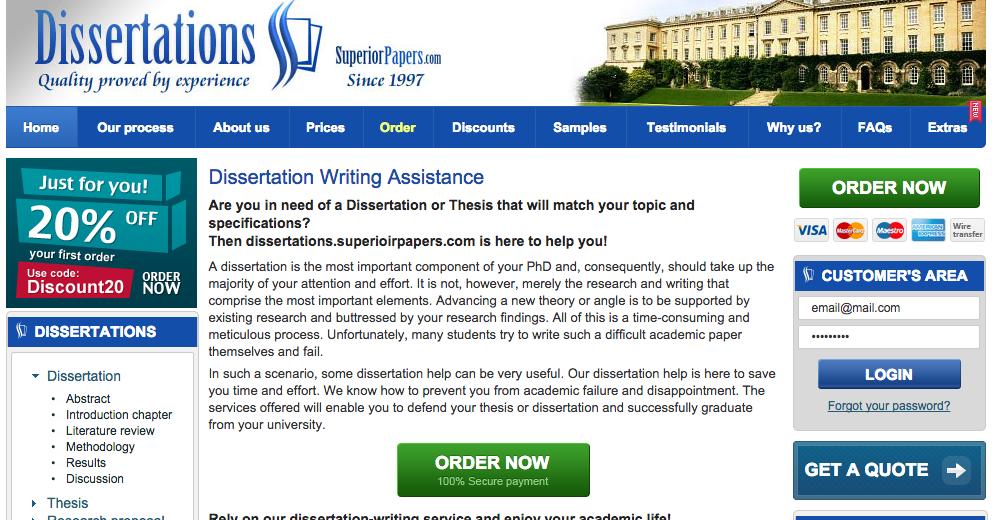Dissertation services review