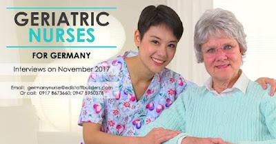 Germany hiring elderly care nurses, up to P1.5 million annual salary