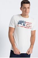 Tricou alb din colectia Jack & Jones