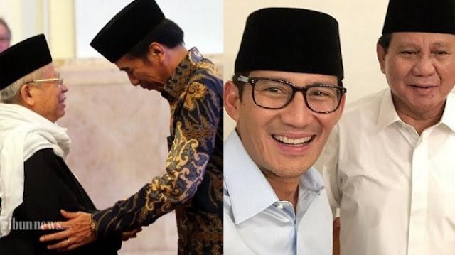 Jokowi dan Sandi Berebut Suara Pemilih di Makassar