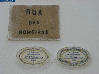 Rua das Amoreiras de Castelo de Vide, Portugal (streets)