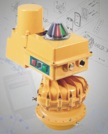 1/4 Turn Electrohydraulic Valve Actuators | Kinetrol Pneumatic