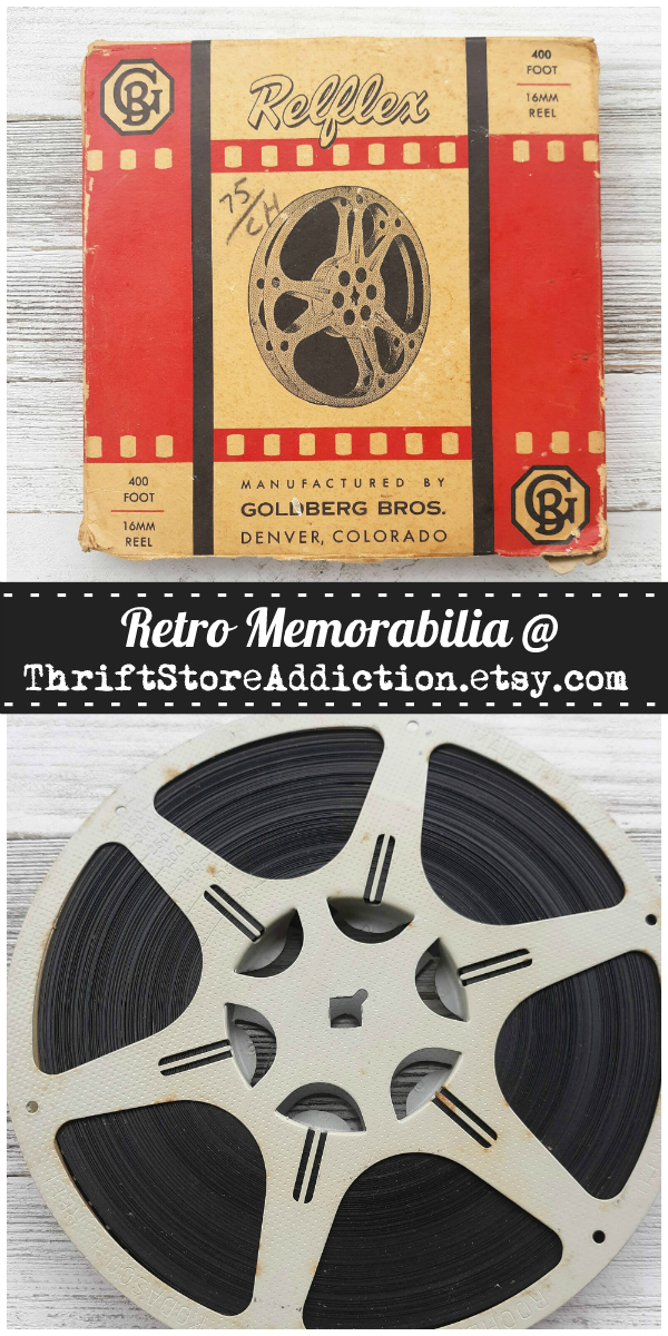 vintage memorabilia at Thrift Store Addiction on Etsy