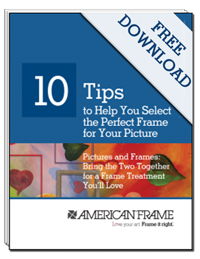 10 tips to help you select the perfect frame for your picture