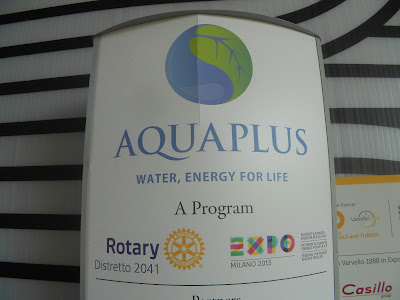 Aquaplus: water, energy for life ad EXPO 2015