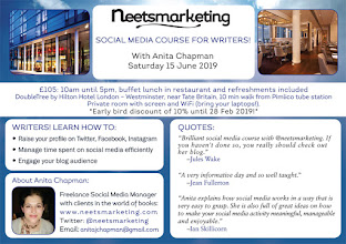 15 June 2019 London: Social Media Course for Writers