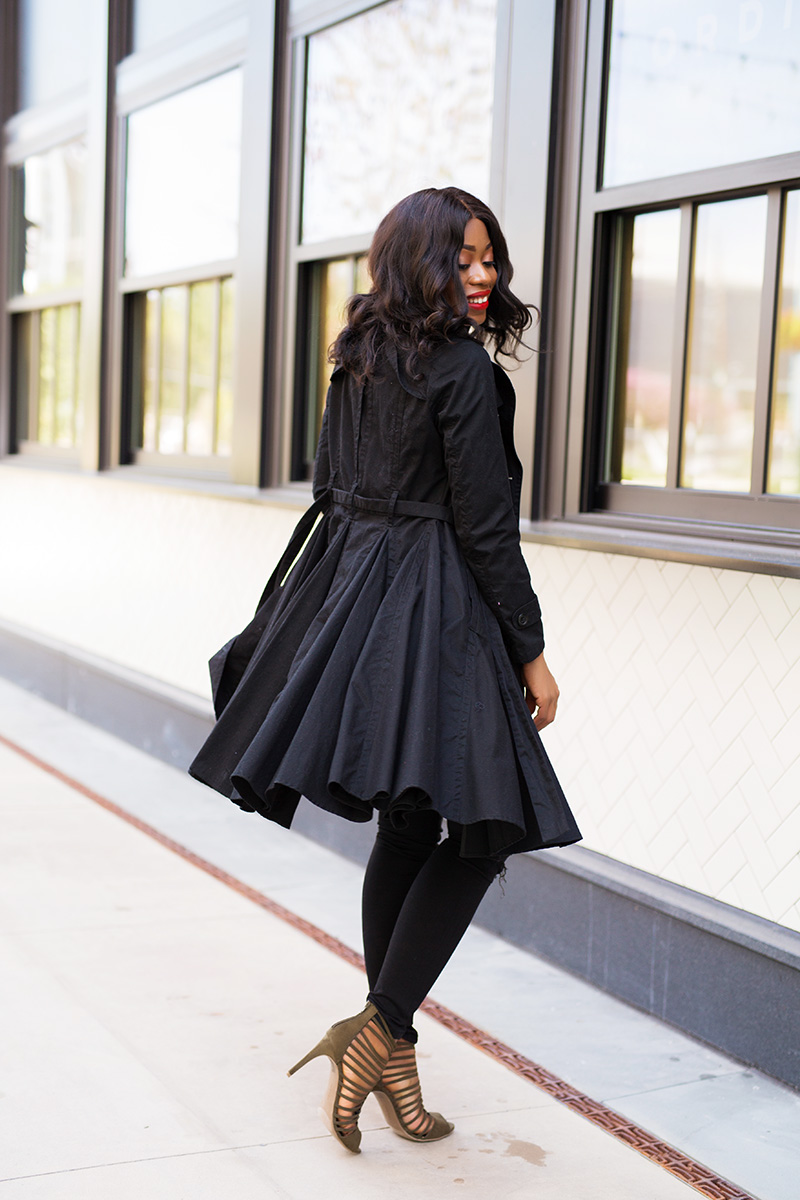 Fall style in trench coat, payless shoes, www.jadore-fashion.com